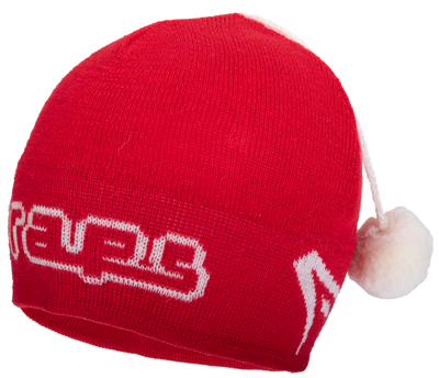 Raps winter hat red