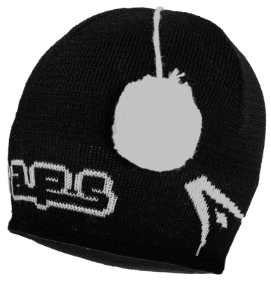 Raps winter hat black