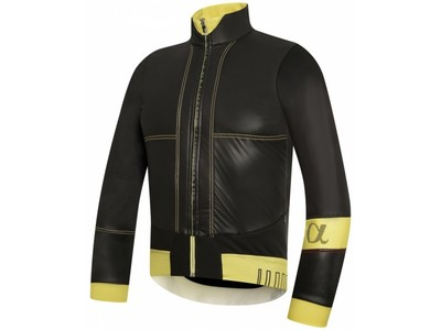 rh+ Alpha Mens Cycling Jacket - zwart