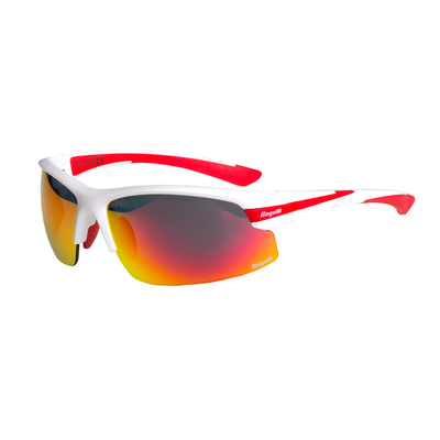 Rogelli Glasses Skyhawk White/red