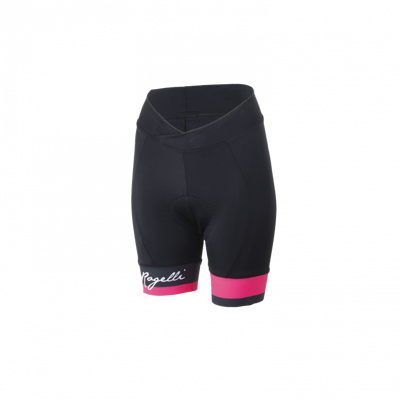 Rogelli lady cycling short Select black/pink