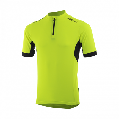 Rogelli cyclingshirt Perugia 2.0 fluor yellow