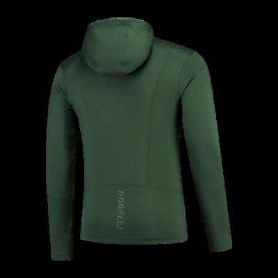 Rogelli Matrix hooded vest green/black/fluor
