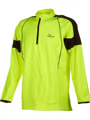 Rogelli Caluso Long sleeve fluo yellow/black