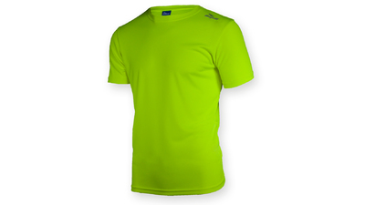 Rogelli Promo Running shirt Fluo Geel