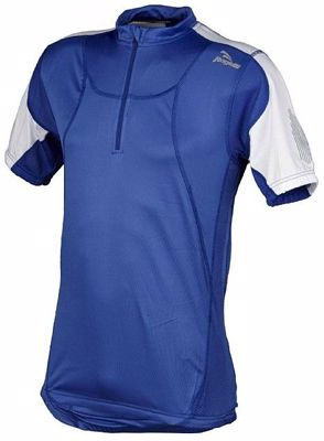 Rogelli Roma shortsleeve bikejersey Royal Blue White