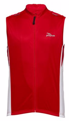 Rogelli Sarno Sleeveless bike skate shirt red/white