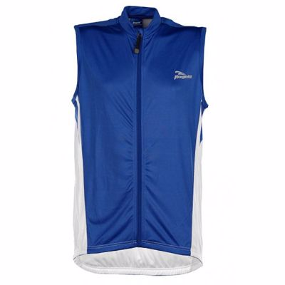 Rogelli Sarno Sleeveless bike skate shirt royalblue/white