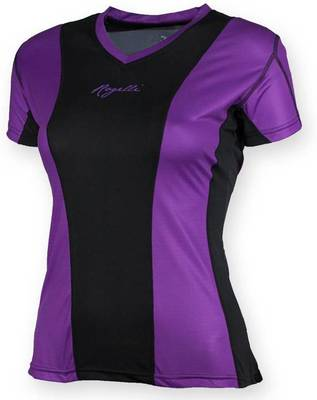 Rogelli Simra Running T-shirt Women Purple/black