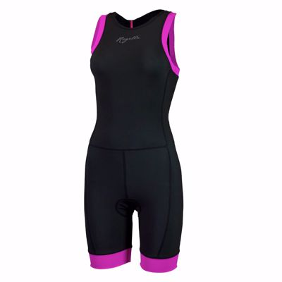 Rogelli Triathlon Suit Taupo ladies black/pink