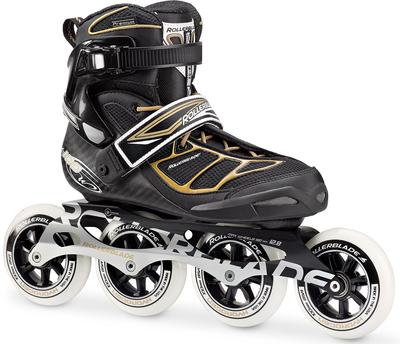 Rollerblade Tempest 100 W Black/Gold