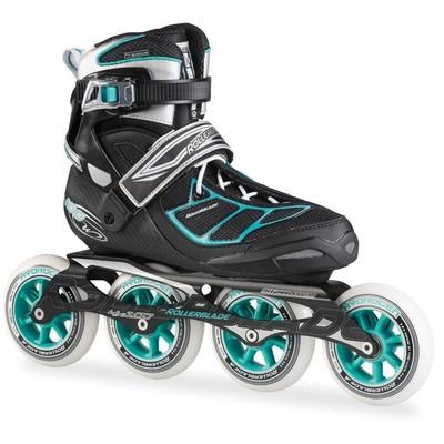 Rollerblade Tempest 100 C Black/light-blue Women