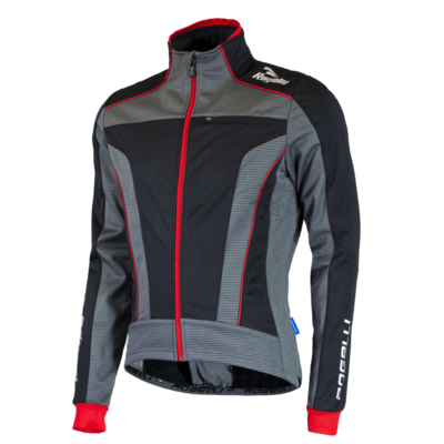 Rogelli Winterjacket Trani 3.0 Black/Grey/Red