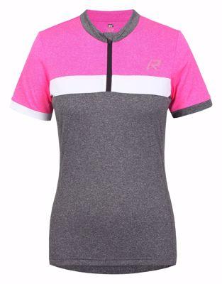 Rukka Raskog fietsshirt women grey pink