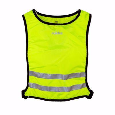 Rukka Reflectie vest Utriala neon yellow
