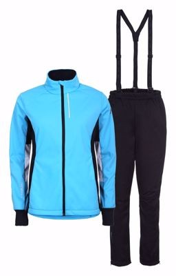 Rukka Tammela Cross Country set Jacket+pants blue black women