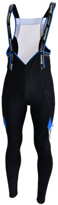 Santini Bibtight black/blue Tour Acqlazero