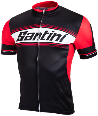 Santini Cycleshirt Short Sleeve Neon Yellow