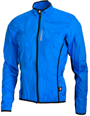 Santini Light windjacket Activent system Blue