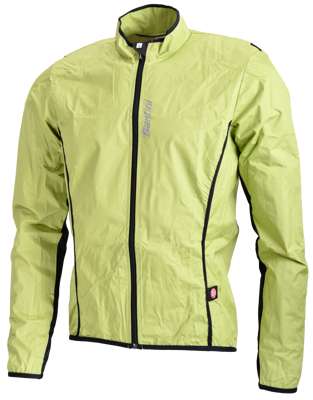 Santini Light windjacket Activent system Green