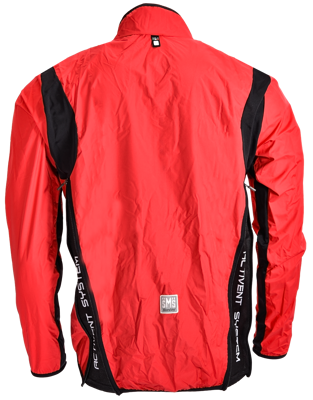 Santini Light windjacket Activent system Red