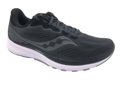 Saucony Ride 14 Charcoal/Black