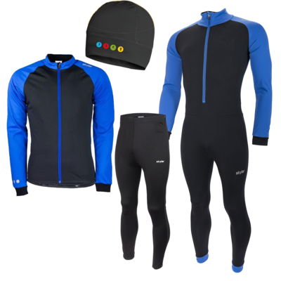 Skylar Thermo Skatingset Kuopio blue (with free cap)