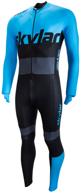 Skylar Marathon Thermo Suit Blue