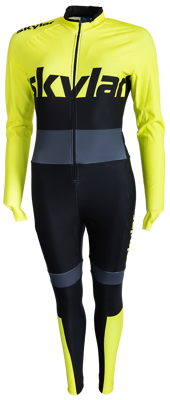 Skylar Marathon Thermo Suit Fluo Yellow