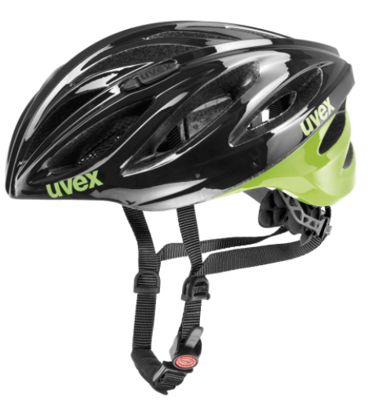 Uvex Boss race black-green