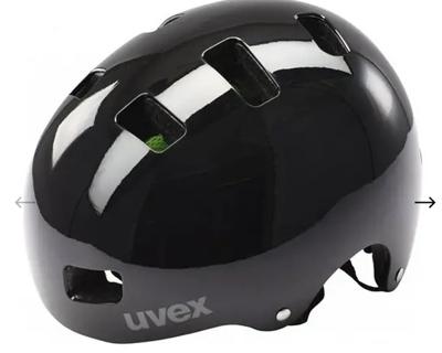 Uvex HLMT 5 bike pro black gloss