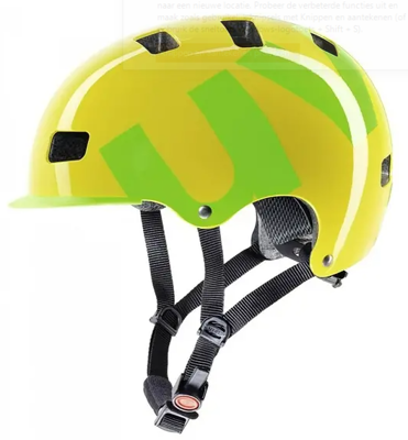 Uvex HLMT 5 bike pro  yellow green