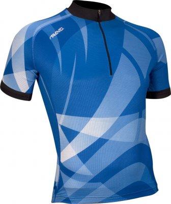 Avento Maillot vélo manches courtes Bleu