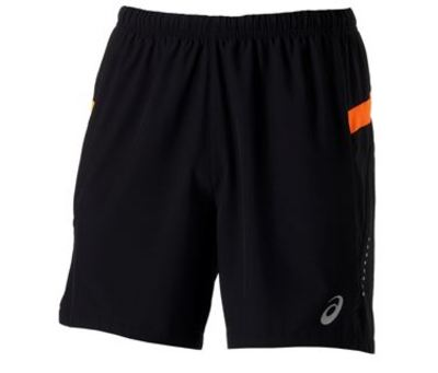 Asics Woven Short 127612 Men 0521 Black/ Orange