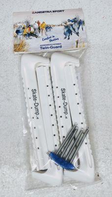 Zandstra TwinGuard Skate-Dump Blade Protectors White
