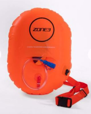 Zone3 Swim safety buoy with hydration control
