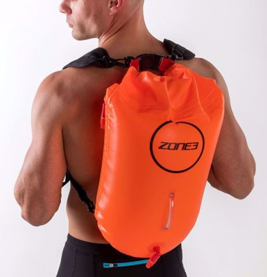 Zone3 Backpack swim safety buoy&dry bag 28L
