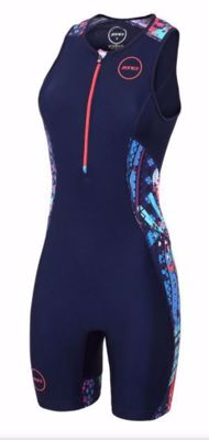 Zone3 Women's activate plus trisuit - Latin summer