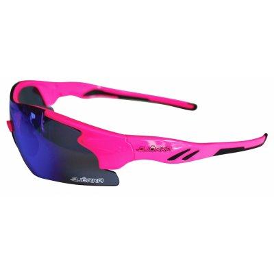 Bjorka Sunglasses fluo pink sky