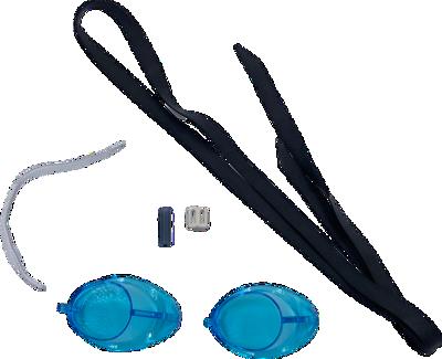 zweedse zwembril aqua