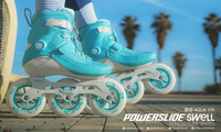 PowerslideSwell skates Aqua 125mm