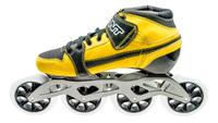 BontPursuit Skate Geel/Zwart 4x100mm