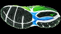 MizunoWave Rider 22 green gecko/silver/blue