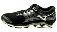 MizunoWave Horizon 3 black/metallic shadow/safety yellow