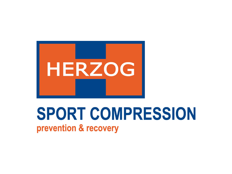 HerzogCompressie kous Zwart of Wit