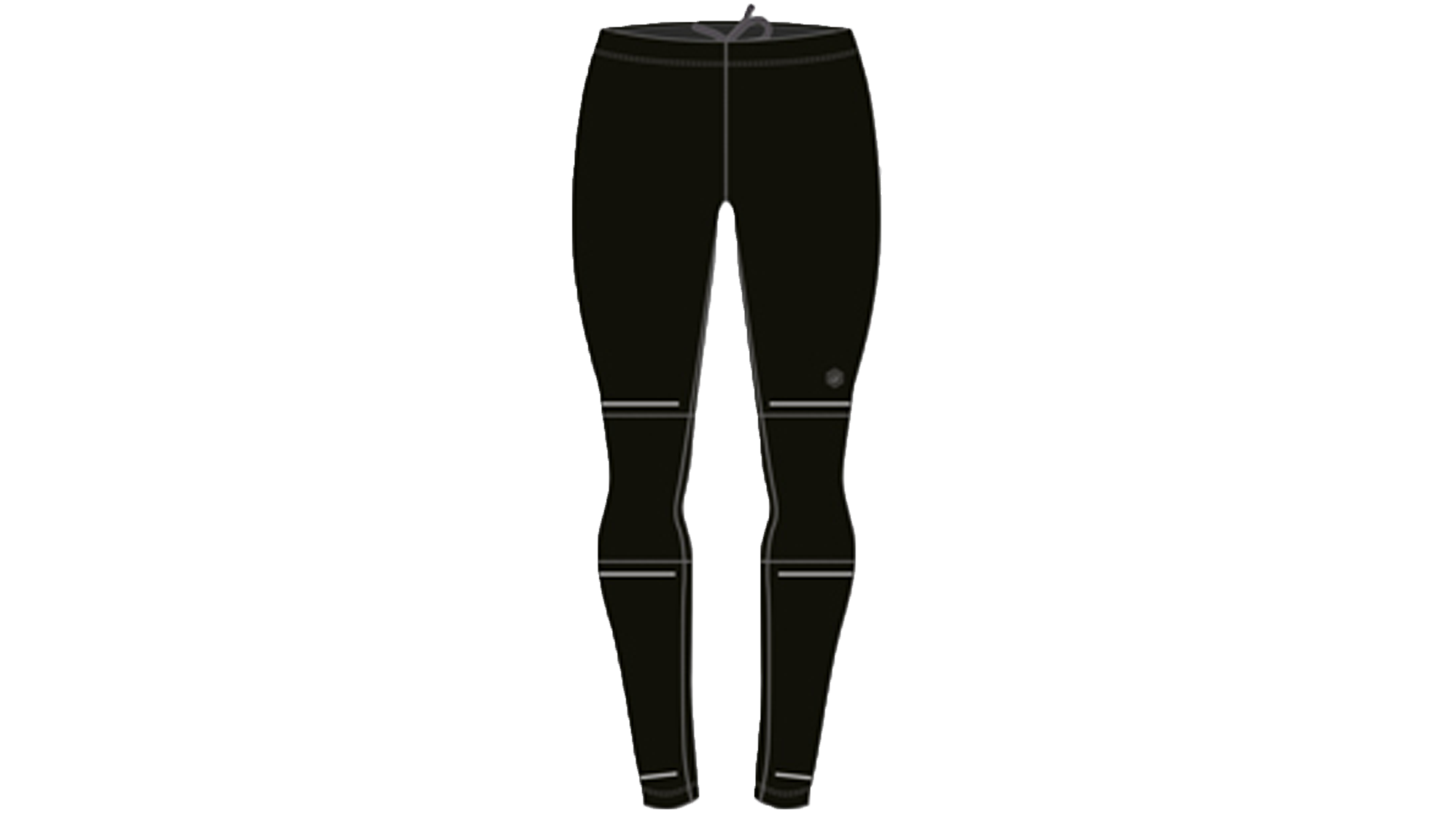 asics run tights men
