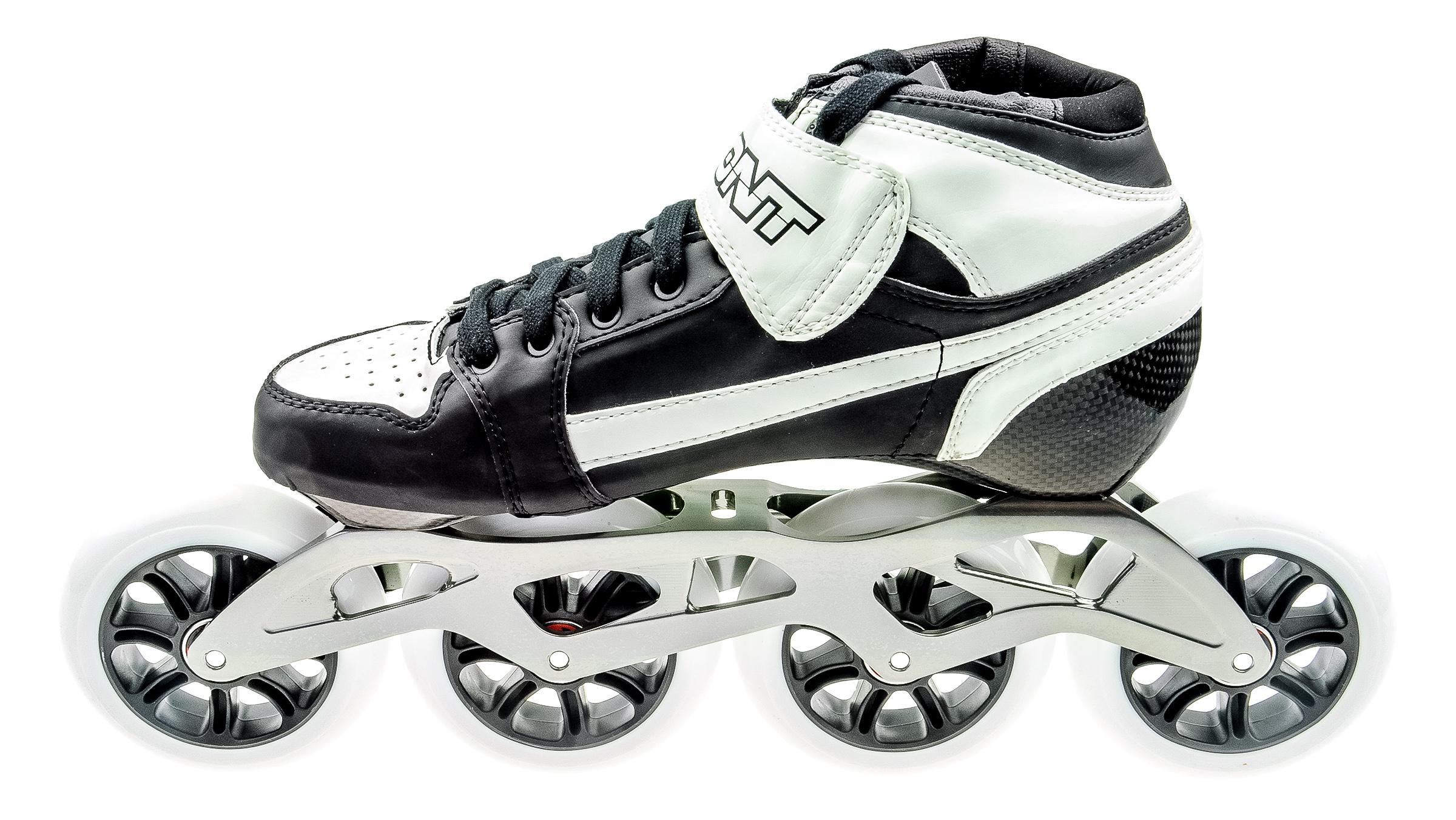 82087cf04ca Bont Pursuit Skate Zwart/Wit 4x100 bestellen bij Skate-dump.nl