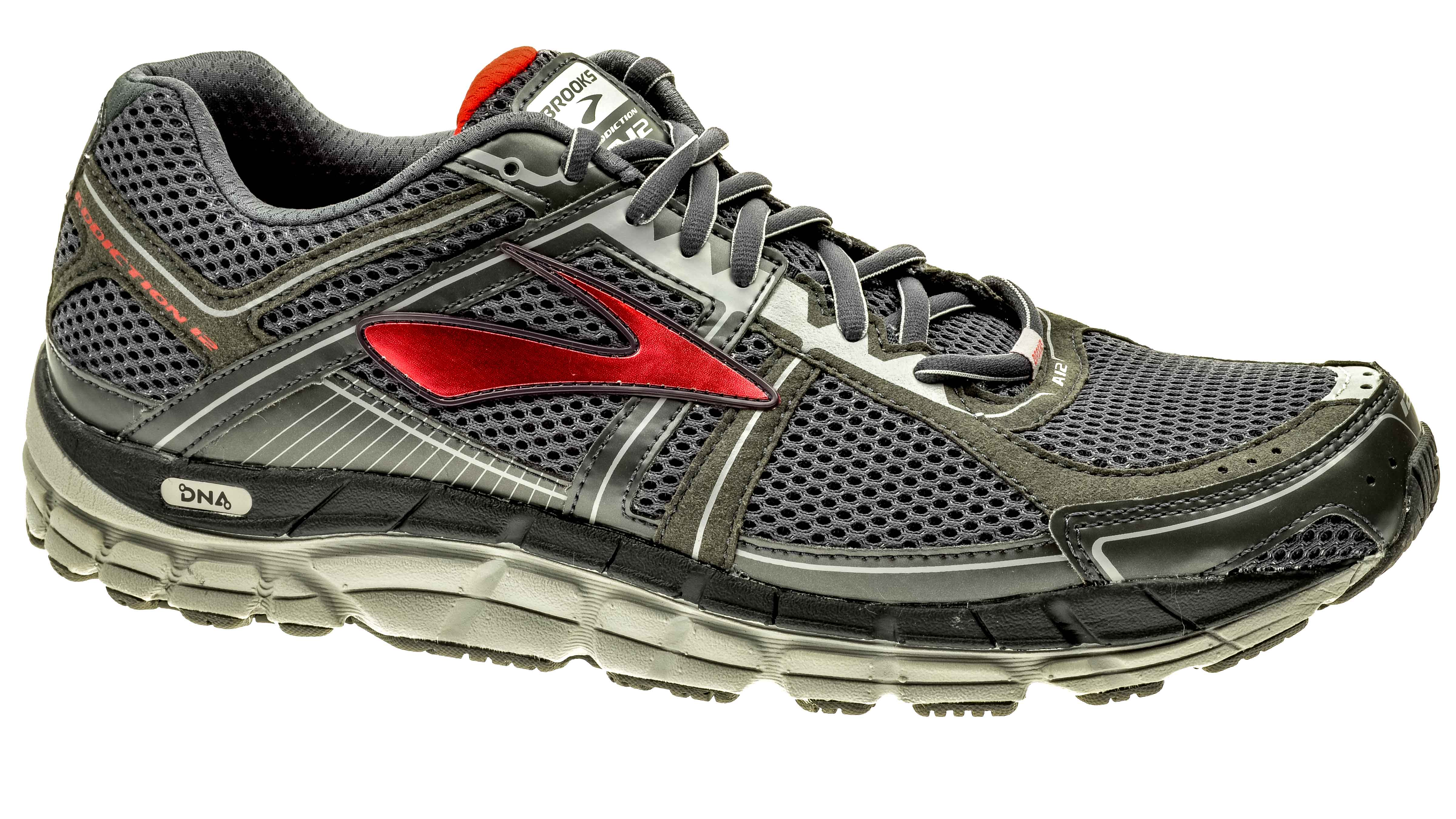 cff5690f5cf Brooks Addiction 12 anthracite highrisk-red silver bestellen bij ...