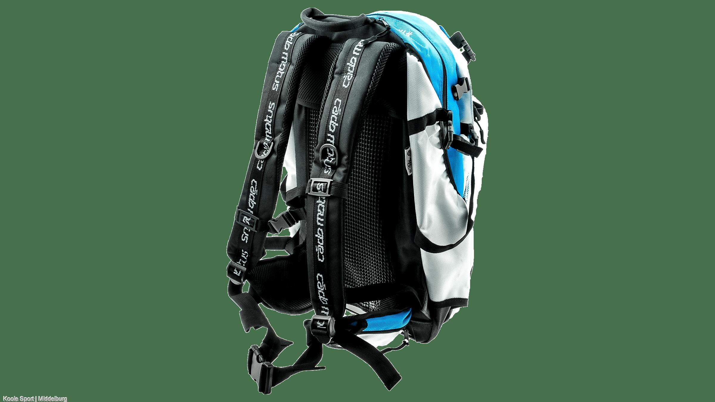 809ede02425 CadoMotus Airflow gear skate skeeler bag - olympia blue/white ...