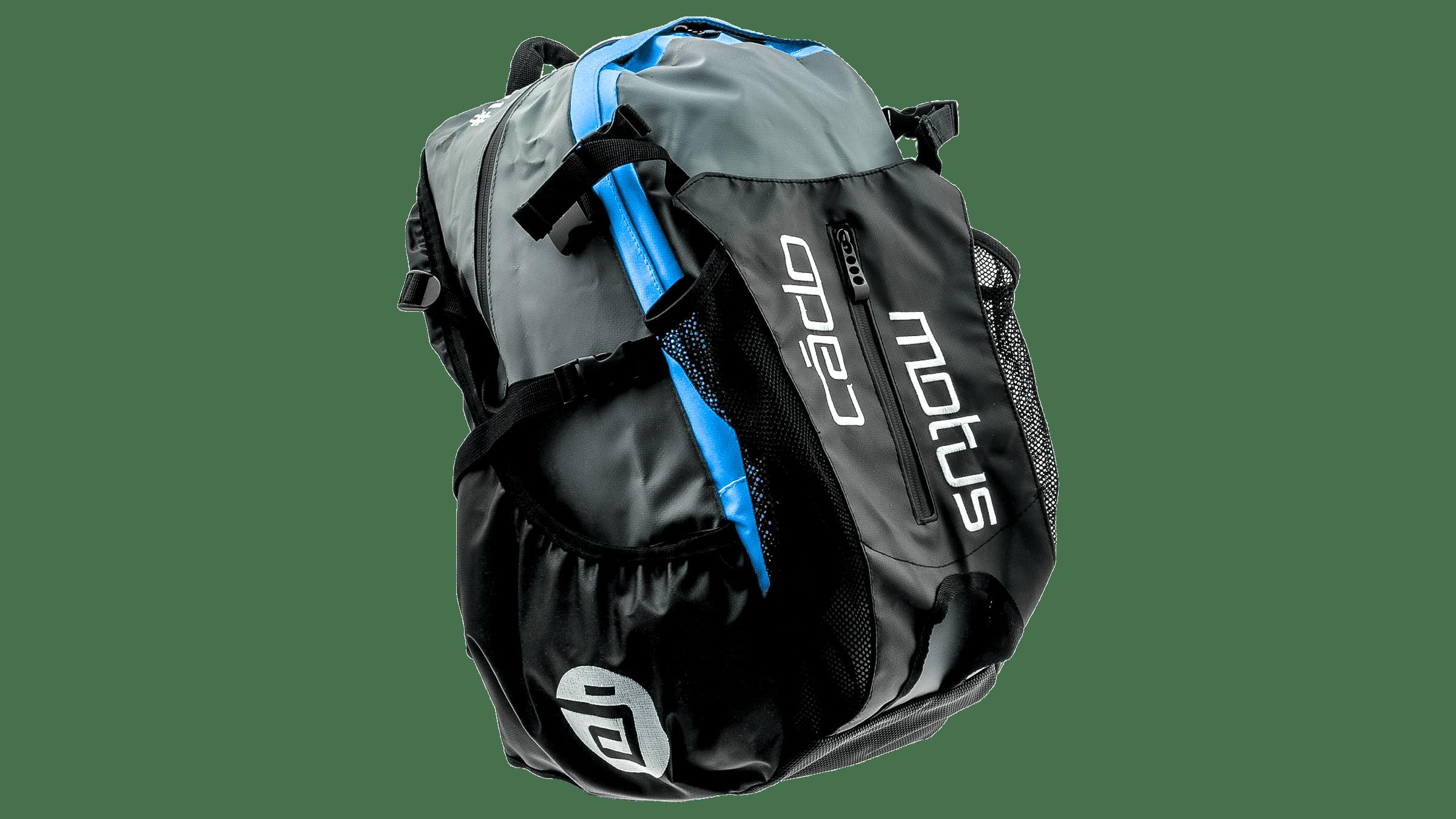 ccdea307b9f CadoMotus Waterflow gear skate skeeler bag - blue/grey bestellen bij ...